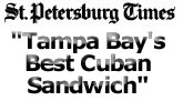St. Petersburg Times Best Cuban Sandwich